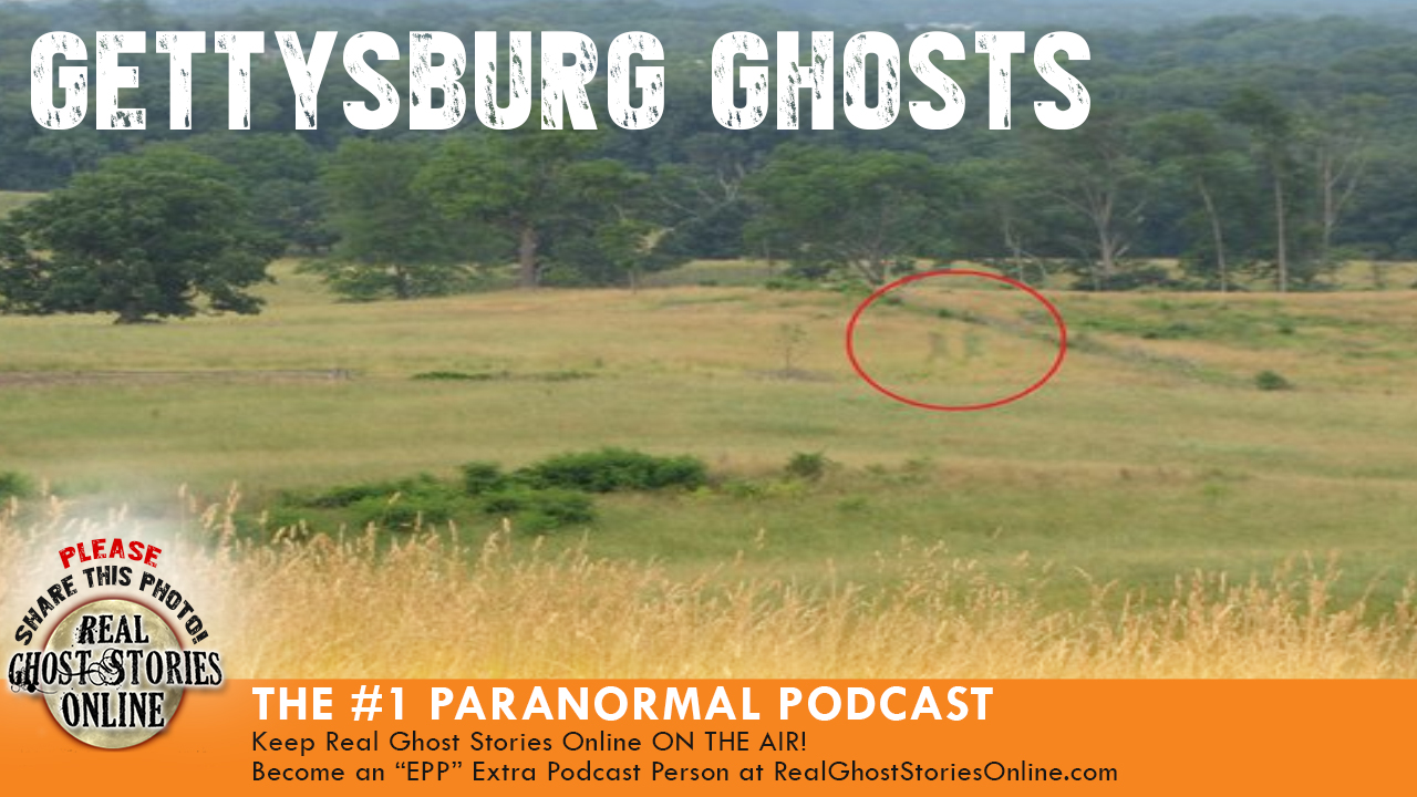 Gettysburg ghost caught on camera